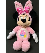 """21"""" Disney Just Play Easter Minnie Mouse Bunny Plush Pink Egg Soft Toy D... - $20.39"""