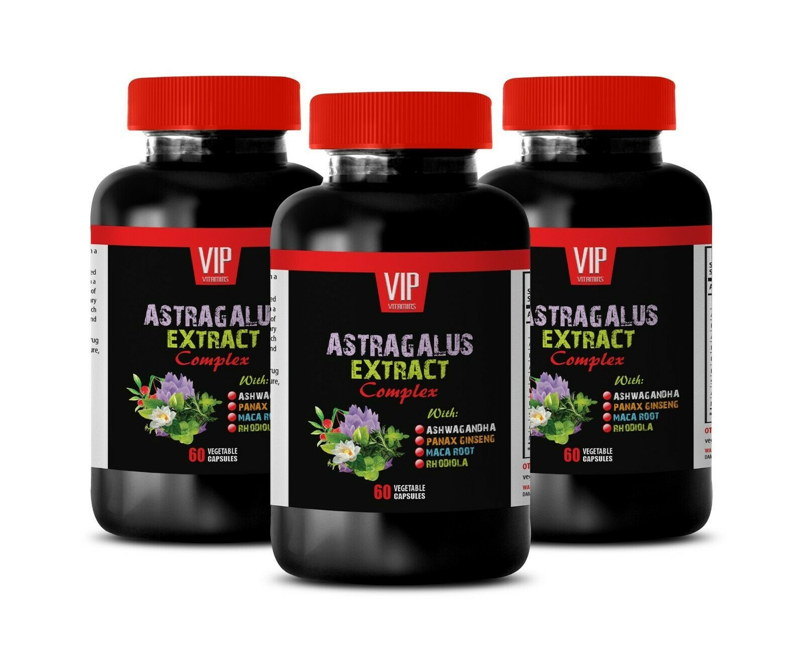 Primary image for astragalus supplement - ASTRAGALUS COMPLEX 770MG - neuroprotective 3B