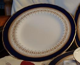 Royal Worcester Regency Blue Bread & Butter Plate - $20.00