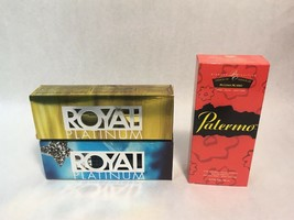 Lot of NEW IN BOX Perfume Womens Scents Royal Platinum Palermo Thierry M... - $59.39