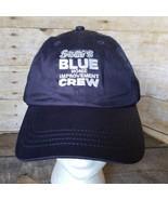 Sears Blue Crew Repairman Hat Home Improvement Trucker Ball Cap Strapbac... - $29.02