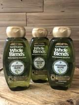 3 Pack Garnier Whole Blends Legendary Olive Replenishing Shampoo 12.5 FL OZ (B - $17.72