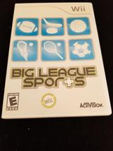 Big League Sports (Nintendo Wii, 2008) No Manual - $9.95