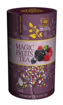 Lions Tea Magic Fruits, Pure Ceylon Black Tea 15 Pyramid Tea Bags - $8.75