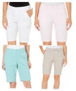 """Gloria Vanderbilt Women's """" Marion""""  Bermuda Shorts - $13.99"""