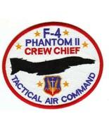USAF F-4 PHANTOM II CREW CHIEF TACTICAL AIR COMMAND STICKER - $9.89