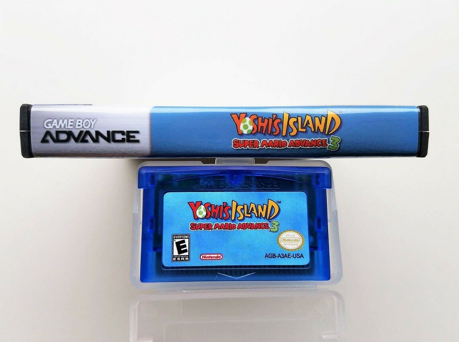 Yoshi's Island Super Mario World Advance 3 - Nintendo Game Boy Advance GBA (USA) image 4