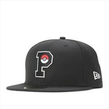 New Era Pokemon collaboration cap 59FIFTY P PIKACHU Black - $95.99