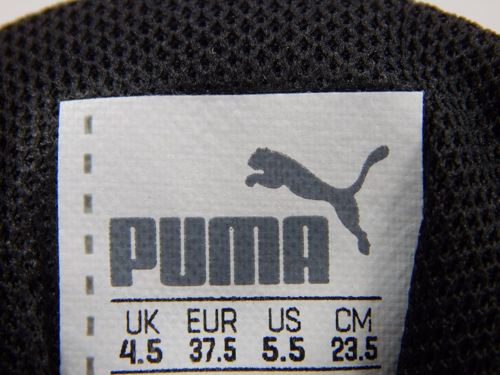 Puma Carson Runner Jr Boys Youth or Men's Size US 5.5 M (D) EU 37.5 Red 18789416