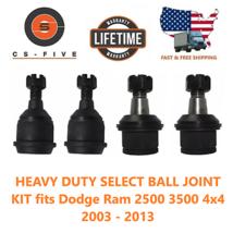 HEAVY DUTY SELECT BALL JOINT KIT fits Dodge Ram 2500 3500 4x4 2003 - 2013 - $89.63