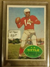 1960 Topps #113 Y.A.Tittle : San Francisco 49ers - A - $16.10