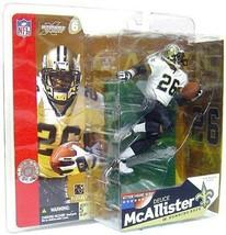 Deuce McAllister New Orleans Saints McFarlane Action Figure NFL Ole Miss - $39.59