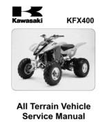 Kawasaki KFX400 KFX 400 KSF400 Shop Service Repair Manual 2003 2004 2005 on CD - $8.99