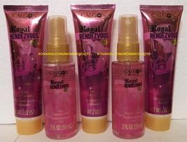 Calgon ROYAL RENDEZVOUS Fragrance Mist x 2 and Body Cream x 3 Travel Size 2 Oz - $25.00