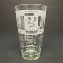 Vintage Federal Glass Mr. Bartender Mixer Shaker Glass with Drink Recipes 12oz - $12.94