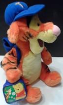 "Disney Tigger Winnie The Pooh 12"" Back to School Plush Stuffed Animal  - $13.90"