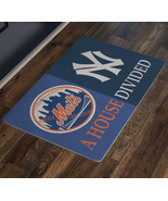 House Divided Man Cave Decor Baseball Fan Mets New York Yankees Custom D... - $29.70