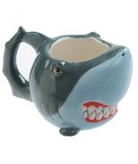 Angry Shark Coffee Mug, Ceramic 3D Shark Shaped Coffee and Tea Cup in Gi... - $18.25