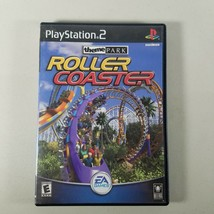 Theme Park Roller Coaster PS2 Video Game 2000 Rated Everyone - $7.99