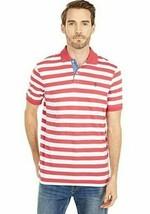 Polo Ralph Lauren Mens Classic Fit Jersey Polo Nantucket Red Stripe & White L XL - $38.50