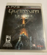 Quantum Theory PS3 (Sony PlayStation 3, 2010) Complete With Manual - $11.00