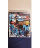 Uncharted 2 Among Thieves For PS3 Sony Playstation Game Complete - $7.91