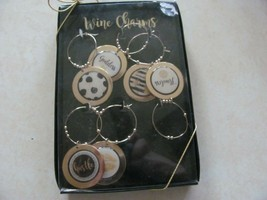Wine Charms by Erica Lyons--6 charms - $9.89