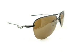Oakley Tailpin Sunglasses Pewter Tungsten Iridium OO4086-06 New Authentic - $104.00