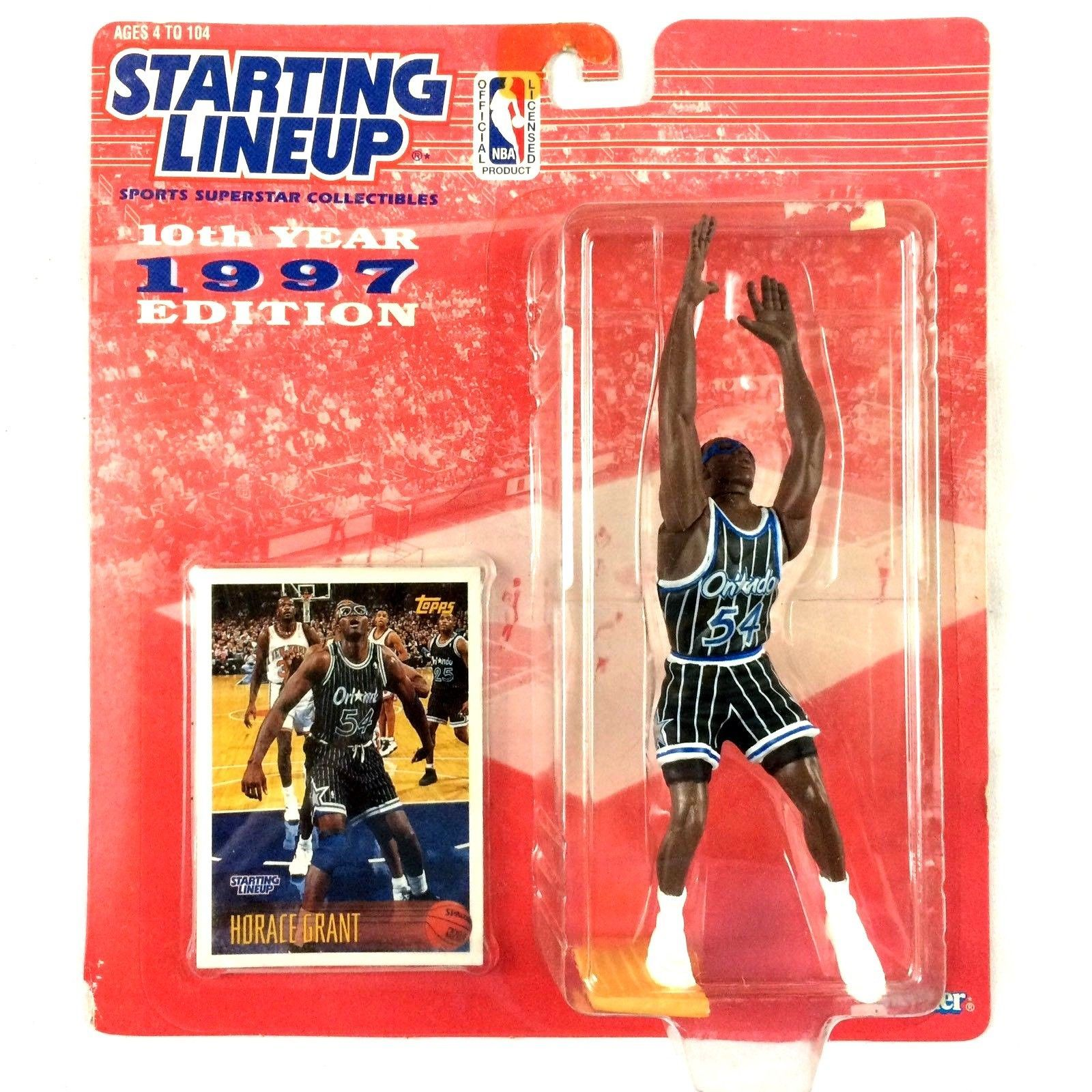 Horace Grant 1997 Starting Lineup Orlando Magic Kenner Sealed NBA Action Figure