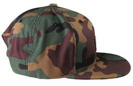 Akomplice Camo Black Flamingo Mob Est. 2004 Label Patch Snapback Baseball Hat NW image 3