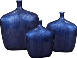 Vase Howard Elliott Wide Squareish Body Small Neck Square - $229.00