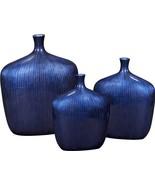Vase HOWARD ELLIOTT Wide Squareish Body Small Neck Square - $229.00