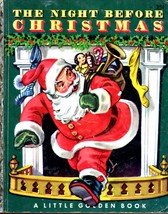 The Night Before Christmas, Clement C. Moore A Little Golden Book vintag... - $10.00