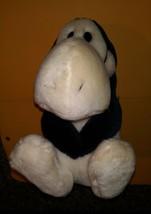 Vtg Dakin Opus Penguin Plush Stuffed Animal Red Bowtie Bloom County Comi... - $12.86