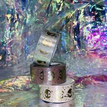 Sealed PAPERGEEK Washi Lunar Magic Gold Foil 33 Foot Rolls YOU GET ALL 3 Mauve image 2