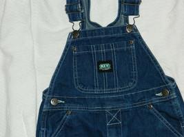 Youth Boys Classic KEY Brand Denim Overalls size 4 / 24x17 - $18.66