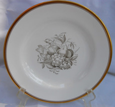 Spode Chatham Fruit Luncheon Plate S No 9 Gold Y5280 Gray - $40.38