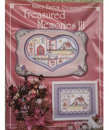 Treasured Memories 3 By Nancy Farrow Pen & Ink Tole Painting Book NEW RA... - $9.98