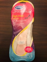 NEW Dr. Scholl's DreamWalk High Heel Insoles - for Sizes 6-10 Women's - $12.00