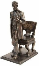 Abraham Lincoln Figurine Standing near Chair with Eagle statue - $79.99