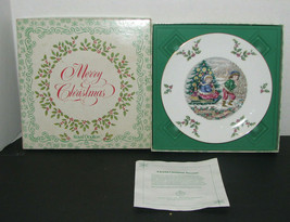 Royal Doulton Christmas Plate 1979 Bone China Plate - $21.76