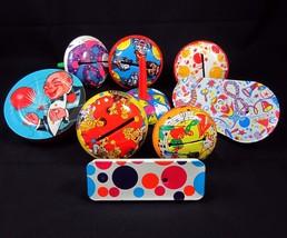 Lot of 9 Tin Litho Toy Noisemakers Kirchhof & U.S. Metal Mfg Co Vintage ... - $39.99