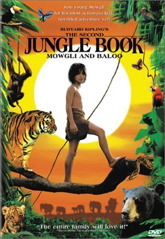 The Second Jungle Book Dvd