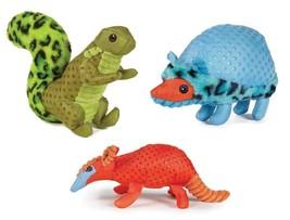 Freckle Friends Dog Toys Soft Plush Animal Choose Squirrel Hedgehog or A... - £9.21 GBP