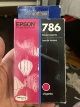 Genuine EPSON 786 Magenta Dura Brite Ultra Ink Cartridge Factory Sealed - $8.90