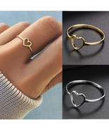 [Jewelry] Best Friend Small Heart Ring for Friendship Gift - Size US 5-11 - $5.99