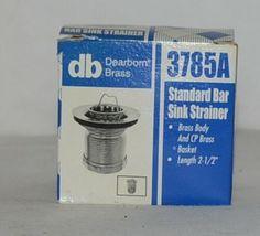 Dearborn Brass 3784A Standard Bar Sink Strainer Brass Body image 5