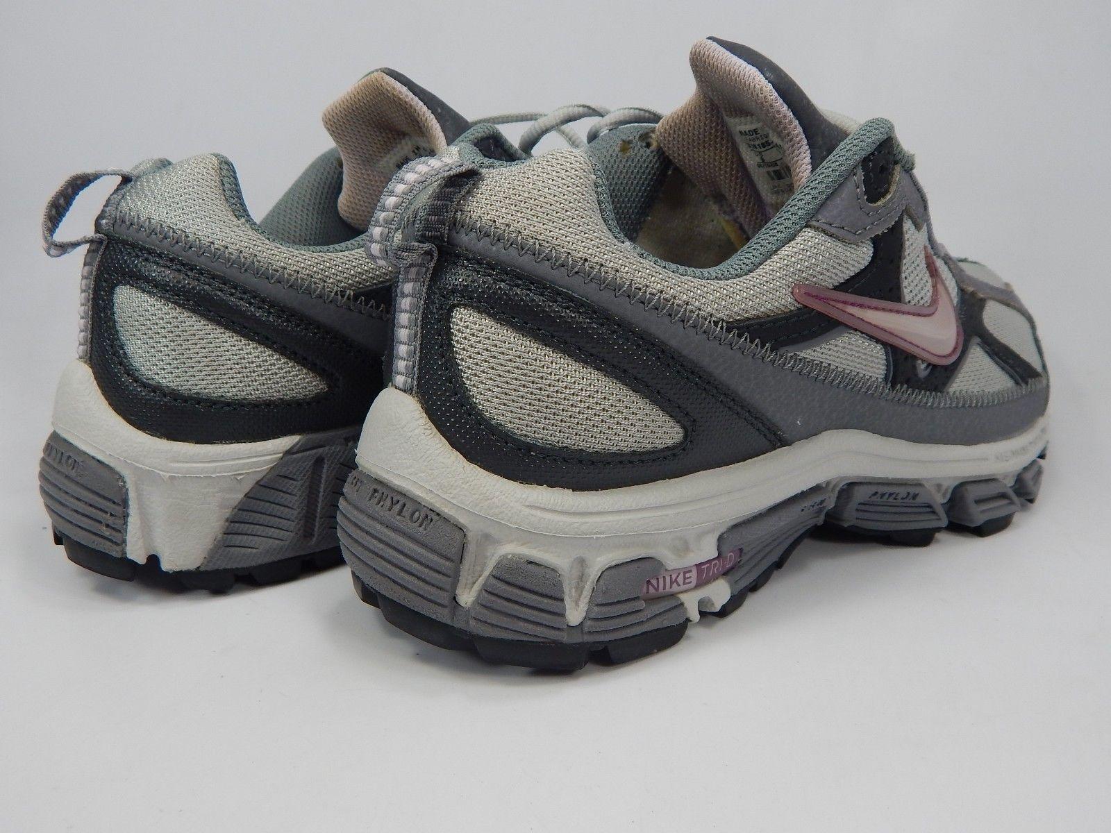 Nike Trail Running Tri-D Size 9 M (B) EU 40.5 Women's Shoes Gray 318185-051