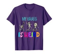 Dog Fashion - My Grass is Weird Funny Bluegrass Music Jewel Tone Shirt Men - $19.95+