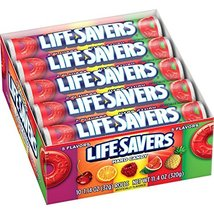 LifeSavers 5 Flavor Hard Candy, 1.14-Ounce Rolls (Pack of 60) by LifeSavers [Foo - $54.05